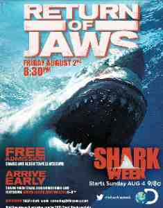 jaws return advert