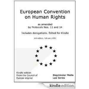 European Convention Rights Blogminster ebook