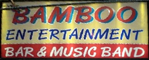 Bamboo Entertainment sign