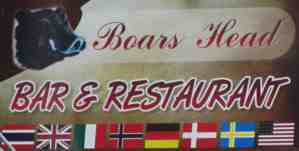 boar head sign 2015