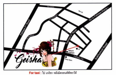 geisha card map