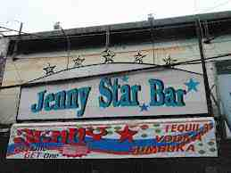 jenny star bar sign