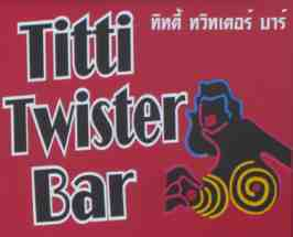titty twister sign