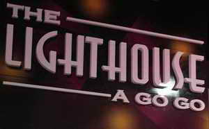 Lighthouse A-GoGo sign