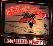 Beach Club sign