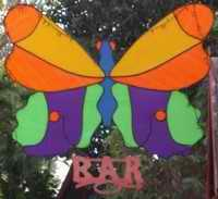 Butterfly Bar sign