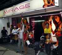 Club Mirage frontage