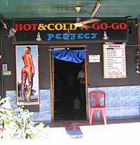 Hot and Cold frontage