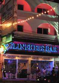 Linekers bar frontage