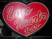 Love Hearts bar