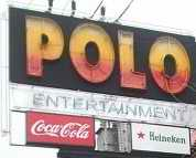old Polo sign