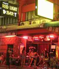 Red Light Bar frontage