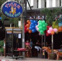 Tiger Beer Bar frontage