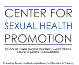 indiana university center for sexual health promotion logo