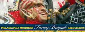 philadelphia mummers fancy brigade association logo