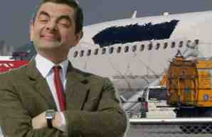 mr bean airways logo