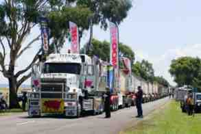 lorry train
