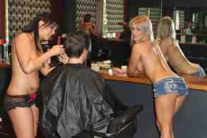 topless barbers