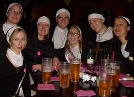 Nuns on stag