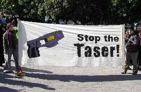 Stop the taser protest