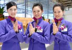 Thai airport staff