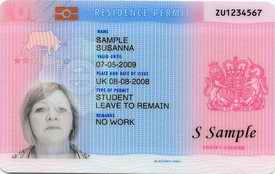 UK ID card