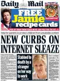 daily mail internet sleaze