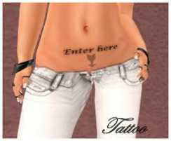 enter here tattoo