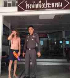 topless farang prosecuted